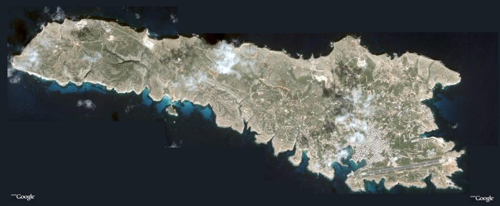 Cartina Geografica Satellitare.Mappa Di Lampedusa Mappa Dal Satellite Di Lampedusa Carta Lampedusa Stradario Lampedusa